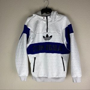 Adidas Team Vintage Jacket Size Small